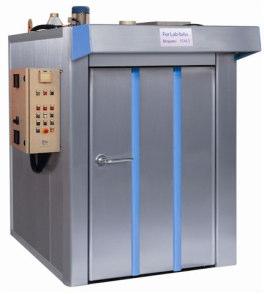 Universal static rotating oven